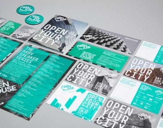Brand identity - Cornwell #graphic #design