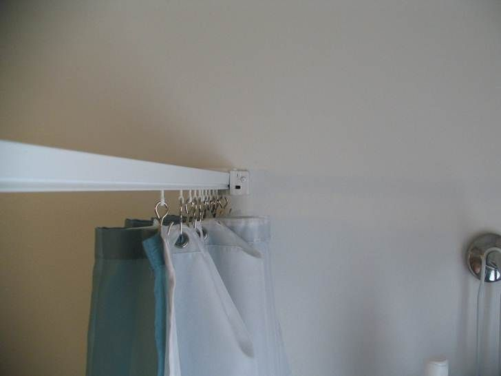 41 Best Images About Shower Curtains And Tracks On Pinterest Vinyls Ceilings And Track