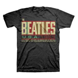 The Beatles USA 1964 T-Shirt - Rock out like you're on the Beatles' U.S.A 1964 tour in this men's fit T-Shirt.