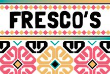 Join us at Fresco's Mexicana for a colorful and diverse Menu selection!