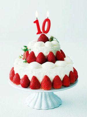 【ELLE a table】10周年記念のいちごショートケーキレシピ エル・オンライン