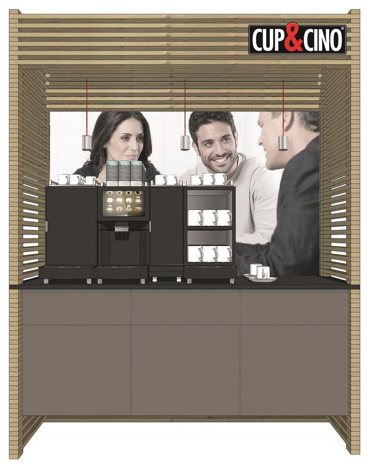 Auch für kleinere Büros oder Betriebe habe wir den passenden Coffee-Shop.