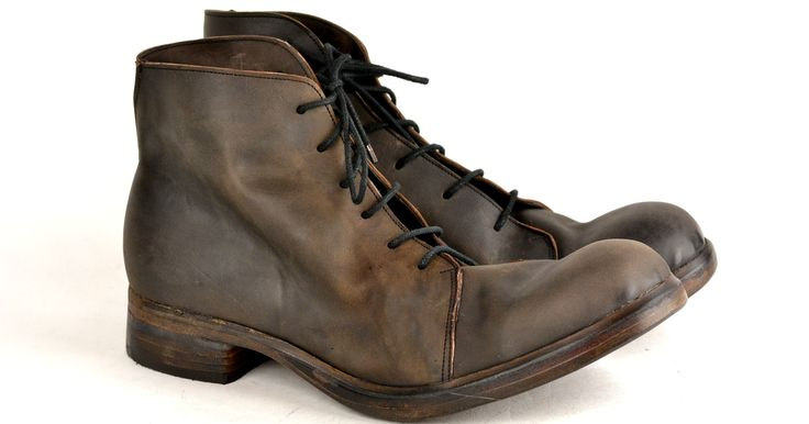 <p>Derby lace up boots goodyear welts</p>