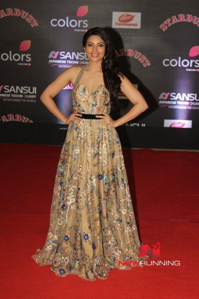 Shama Sikandar at  Sansui Stardust Awards Red Carpet