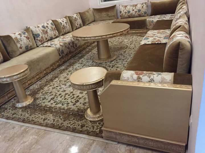 81 best salon marocain images on pinterest moroccan room for Salon oriental chic