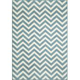 Baja Blue Indoor/Outdoor Rug. Not as colorful as the other rug. This might be great in the kids room. Its an outdoor rug, very easy to keep clean!