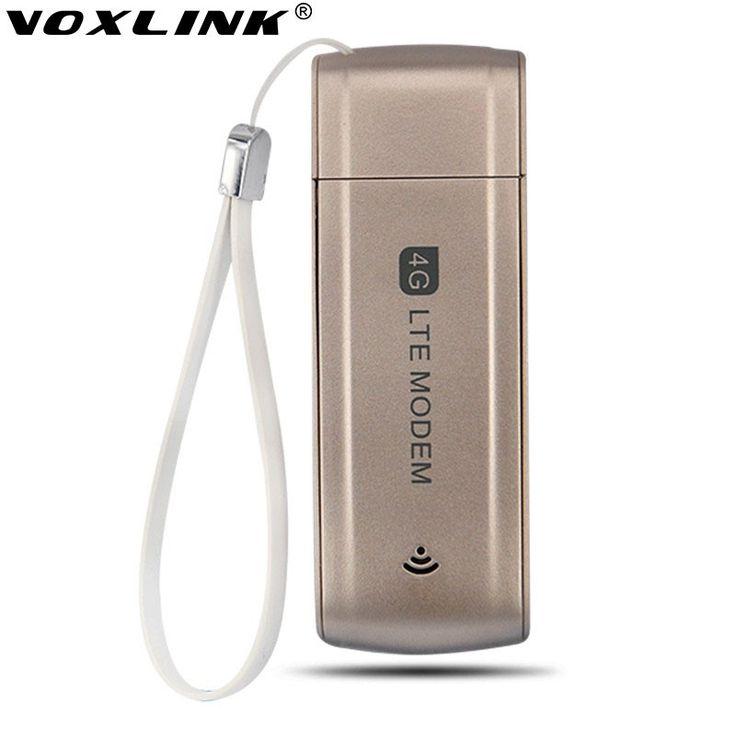 Unlocked 100Mbps Wireless Portable 4G USB Modem 100Mbps LTE FDD WCDMA 4G Dongle SIM Card Slot 2100Mhz Modem support B1/B3