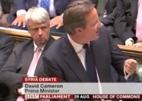 UK's David Cameron: No 'Smoking' Gun on Assad - Walid Shoebat Cameron didn't have the right to make that judgment and neither does obama.