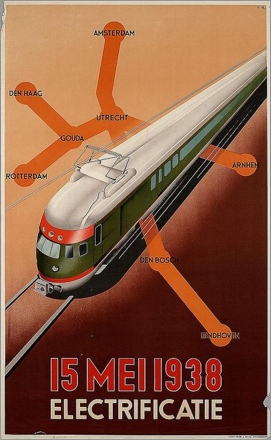 Electrificatie. 1938 | Flickr - Photo Sharing!