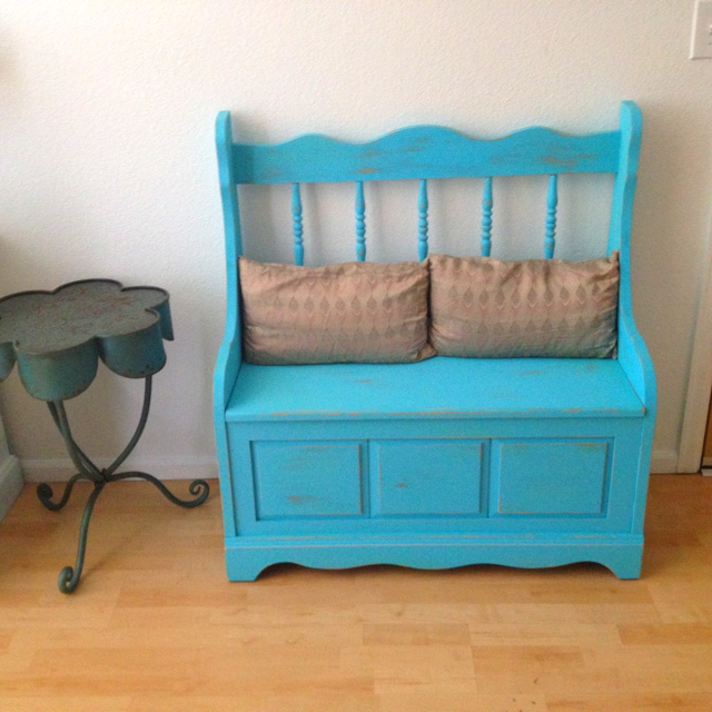 Wooden Toy Box Bench - WoodWorking Projects & Plans