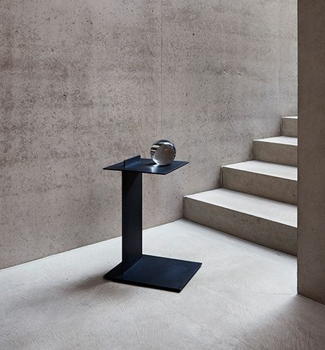 The Edge - Black Side Table