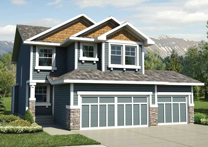 Titan III | New 2-Storey Homes Calgary | Baywest