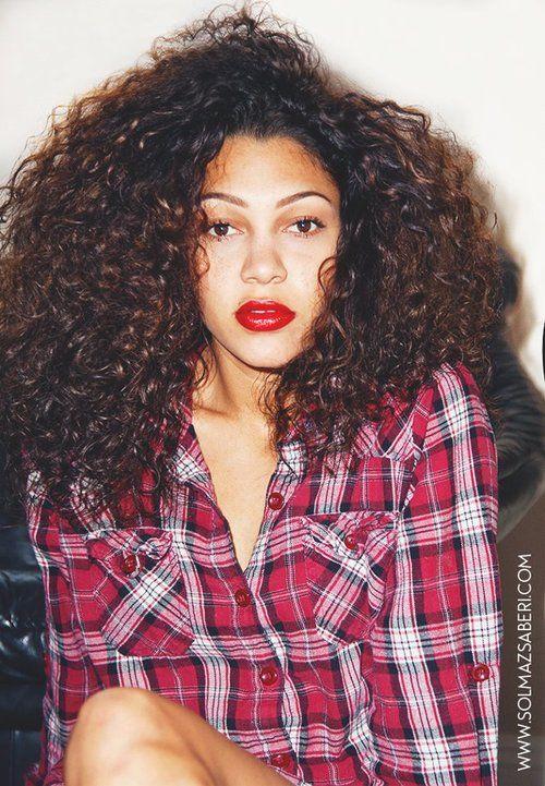 Natural Curls <3