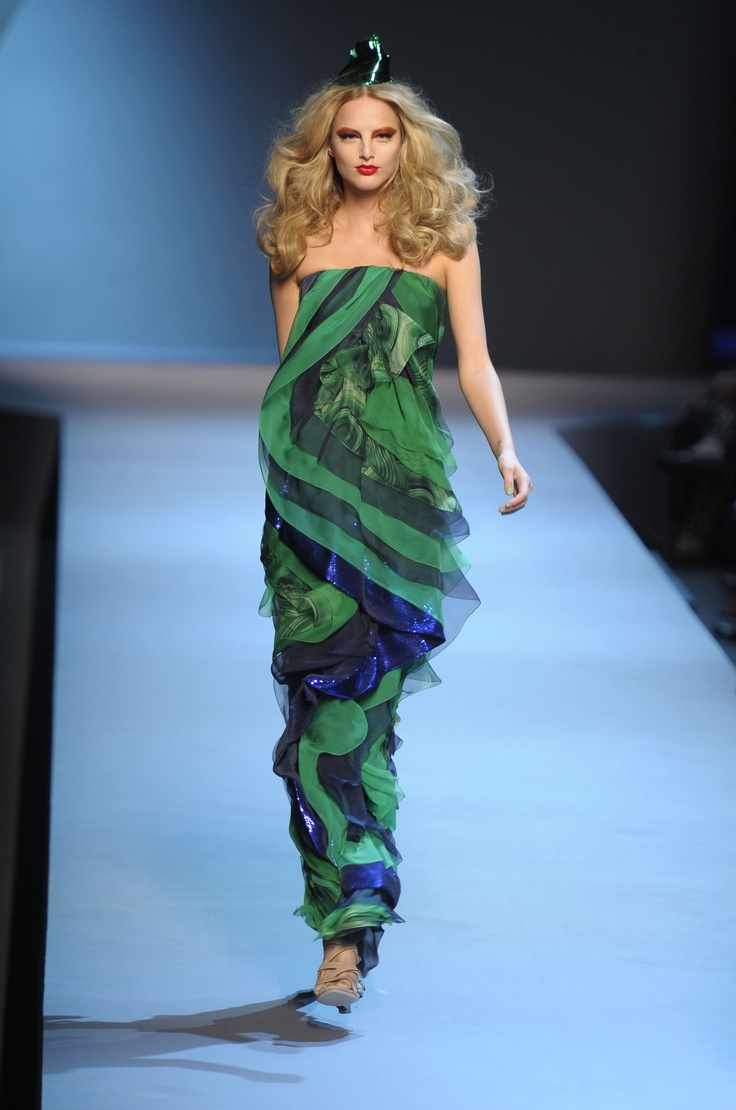 Dior Haute Couture - 2011/2012: Blue Green, Beauty Colour
