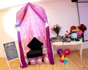 Masquerade Theme Photo Booth for a Sweet 16 Birthday Party. by Sunsshyne