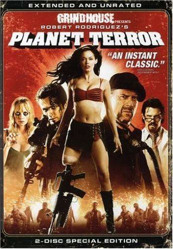 Grindhouse Presents, Planet Terror - Extended and Unrated (Two-Disc Special Edition)  Rose McGowan, Freddy Rodríguez, Josh Brolin, Bruce Willis, Marley Shelton, Michael Biehn, Jeff Fahey, Quentin Tarantino, Danny Trejo, Cheech Marin, Naveen Andrews, Stacy Ferguson, Nicky Katt, Robert Rodriguez  Movies & T