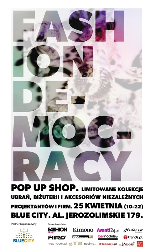 Welcome on Thursday to meet with us at FASHION DEMOCRACY