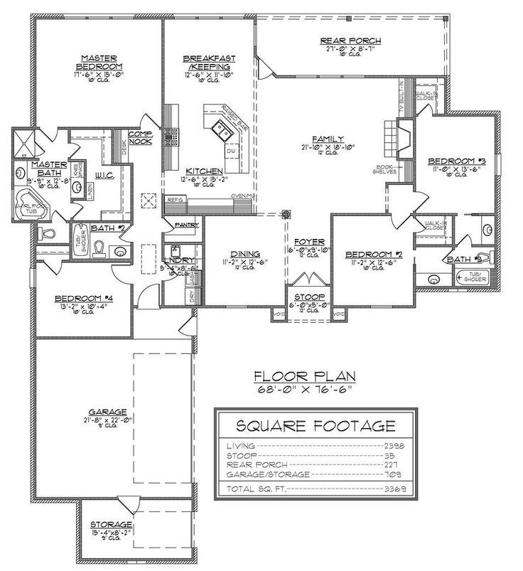 Madden home design the avoyelles floor plan ideas for Madden house plans