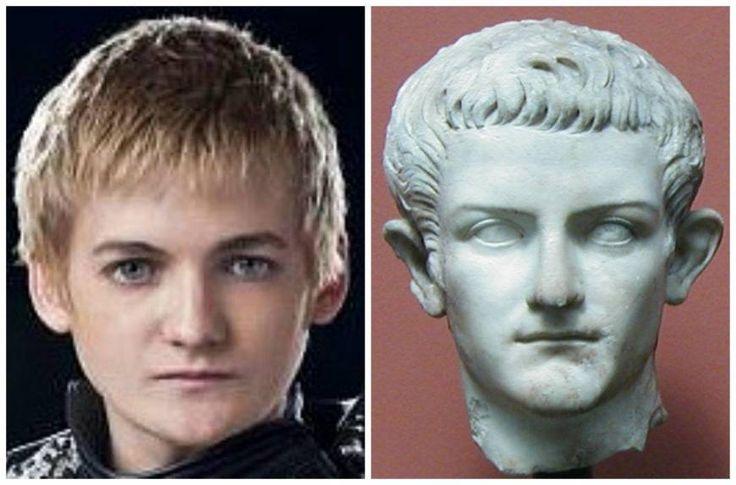 Two Tyranical Rulers - King Joffrey (Jack Gleeson) and Caligula