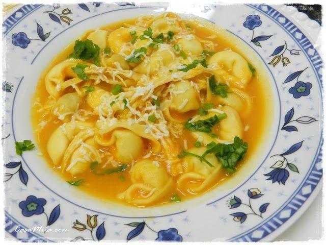 CasaMila.com: sopa de capeletti... humm