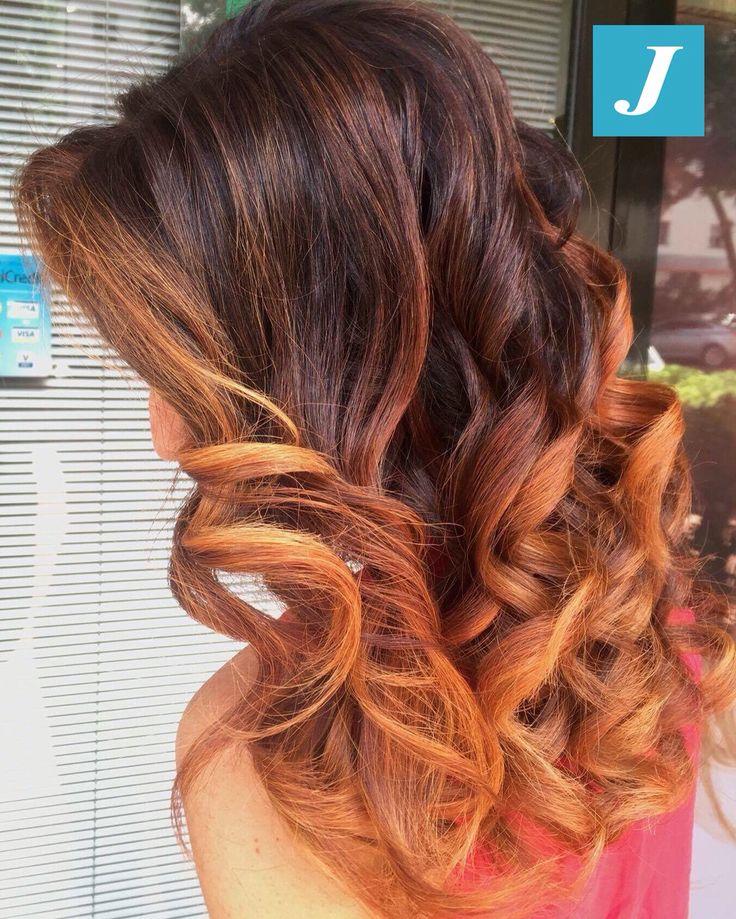 Ramato  _ Degradé Joelle  #cdj #degradejoelle #tagliopuntearia #degradé #igers #musthave #hair #hairstyle #haircolour #longhair #ootd #hairfashion #madeinitaly #wellastudionyc