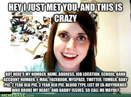 Stalker girlfriend