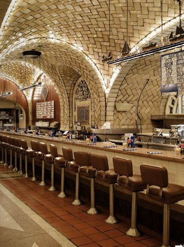 Oyster Bar. Grand Central Station  Taschen NY