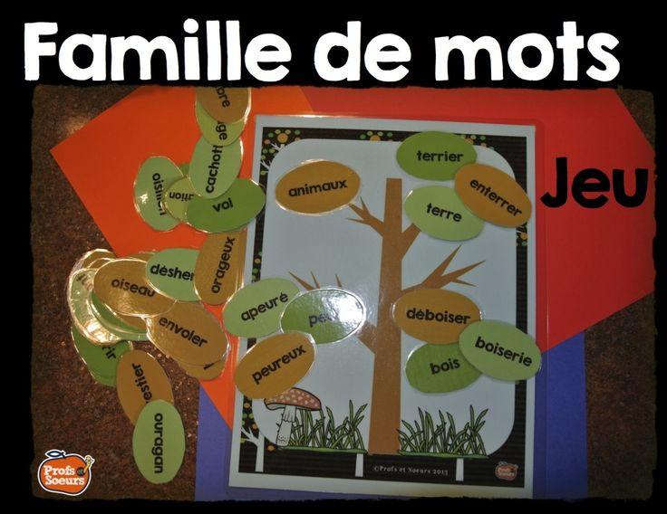 Les familles de mots// Jeux de mots