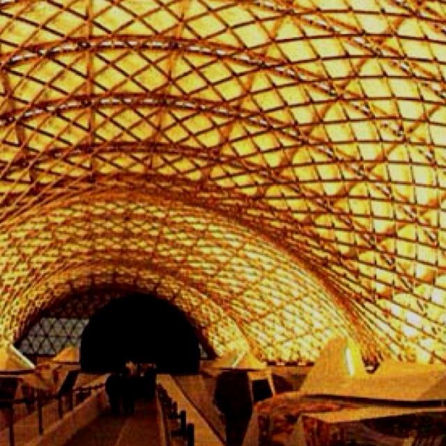 Basket roof