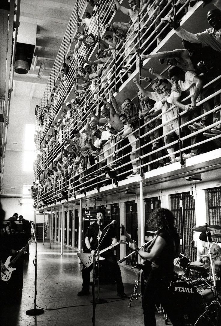 """METALLICA ST.ANGER OFFICIAL MUSIC VIDEO, IN San Quentin State Prison. One of the best scenes from the videoclip  """"The World's No:1 Online Heavy Metal T-Shirt Store"""". Check it out our Metalhead Clothing and Apparel Store, Satanic Fashion and Black Metal T-Shirt Stores; www.HeavyMetalTshirts.net"""