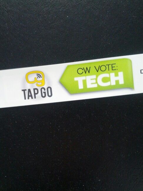 TAP GO at #chiautoshow #CWC14