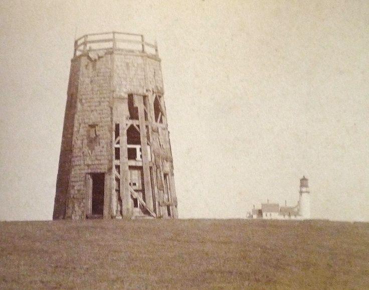 Windmill Cape Cod Part - 38: Truro (late 1800s) - Many Cape Cod Windmills Did Not Survive. Some Were