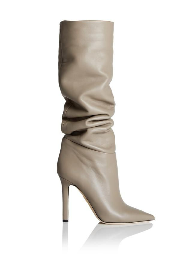 tan leather knee high boot | Boots