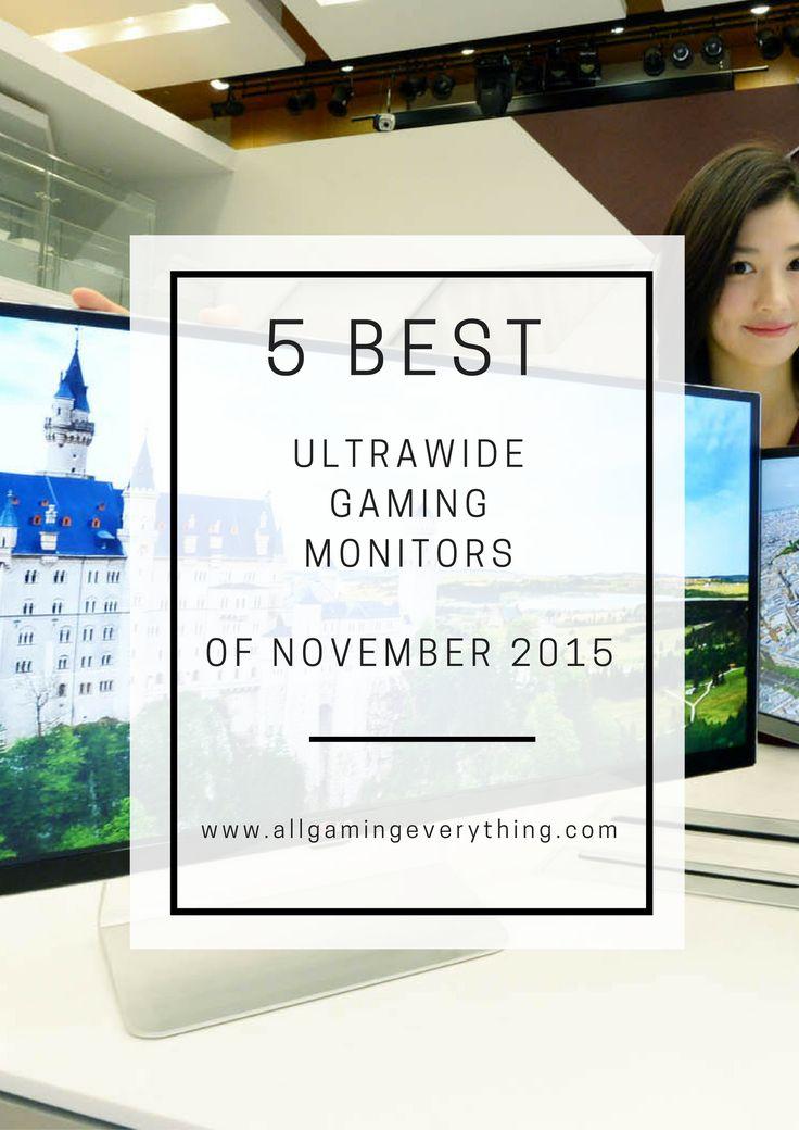 5 Best Ultrawide Gaming Monitors!