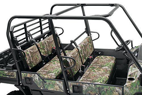 KAWASAKI MULE PRO-FXT DXT FX DX 2015-2016 CAMO REALTREE GREEN SEAT COVERS KAF080-039 Genuine Kawasaki RealTree Xtra Green Camo Seat Covers MANUFACTURER PART NUMBER : KAF080-039 Protect your front and rear bench seats from the hunt while blending into your surroundings with these color-matched Realtree® Xtra® Green Seat Covers. Each cover is made from heavy canvas and features an elastic band along the cover's edge for quick installation and an O.E.M. quality fit. Material: Canvas In..