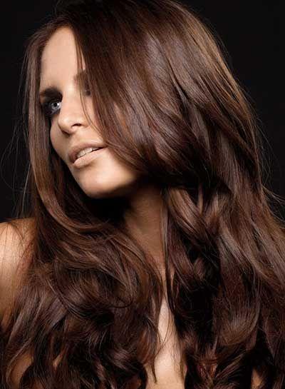 Resultado de imagem para cabelo castanho chocolate