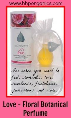 Certified Organic Perfume - Love. Go to http://hhporganics.miessence.com/community/events.jsf $89.10AUD