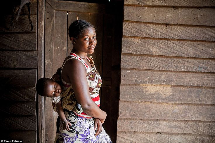 Hard times: According to World Bank data from 2011, 25 per cent of women in Cameroon were pregnant or already had children