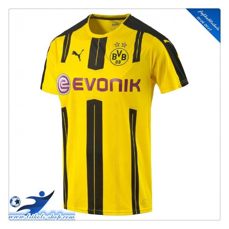 Neues Borussia Dortmund BVB Heimtrikot 2016 2017 Mit Beflockung