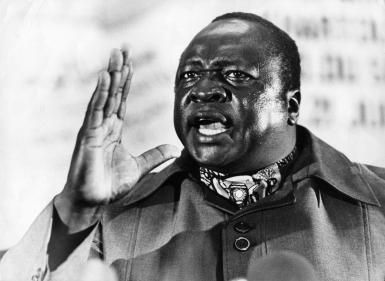 Why Idi Amin Dada Was Known as the 'Butcher of Uganda': President of Uganda Idi Amin. He seized power after a coup in January 1971 and was driven from Uganda by Tanzanian forces in 1979.