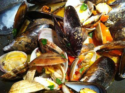 Zagara: Soutè di frutti di mare