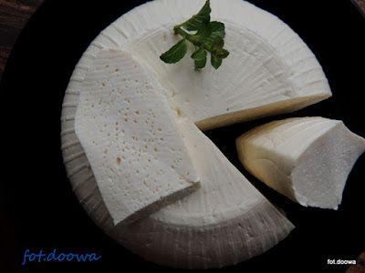 Moje Małe Czarowanie: Ser typu  korycińskiego domowy, najprostszy