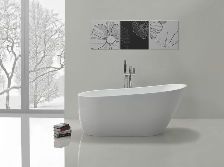 Bathroom Acrylic Free Standing Bath Tub 1680 x 720 x 730 - FREESTANDING