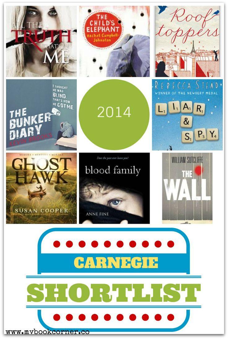 Carnegie Medal Shortlist 2014