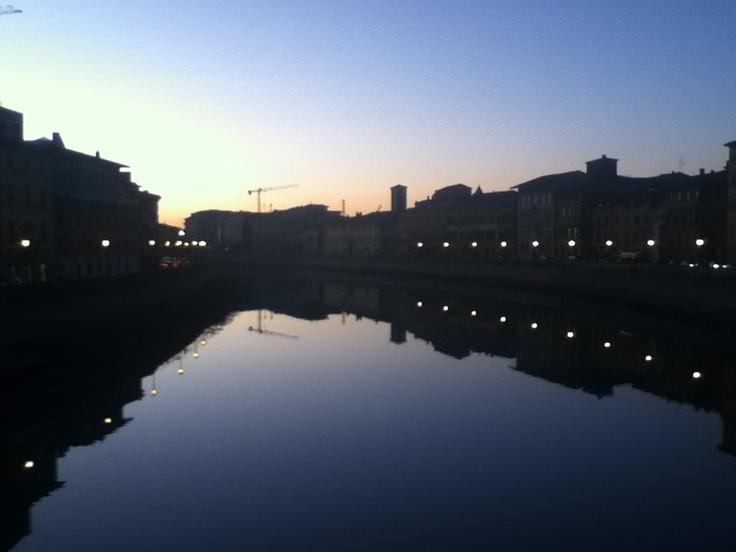Lungarni al tramonto