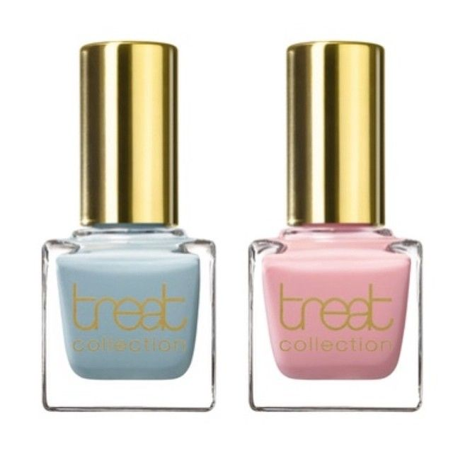 Know someone getting married? How about giving the bride some gorg nail colors from @treatcollection! Something blue and Honeymoon. Msg me on how to buy!