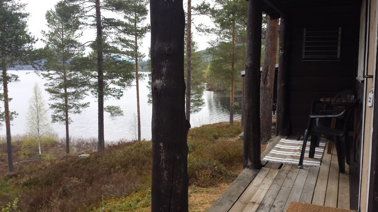 Enjoy the view from the Studio cabin lakeview terrace