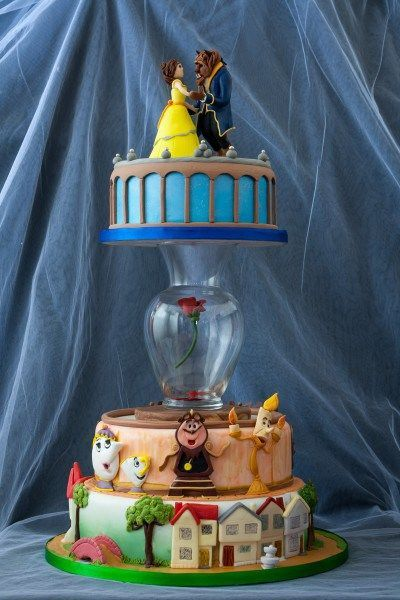 Let Disney inspire your next birthday bash with these 12  Disney-themed cakes that are so fantastic we're willing to believe the secret ingredient was a sprinkling of pixie dust.