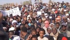 Le sud de l'Algérie vent debout contre le gaz de schiste
