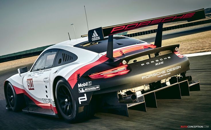 New Porsche 911 RSR for Le Mans Officially Unveiled                                                                                                                                                                                 More